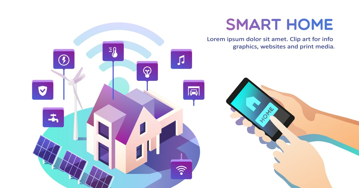 Download Smart Home Concept by Faber14