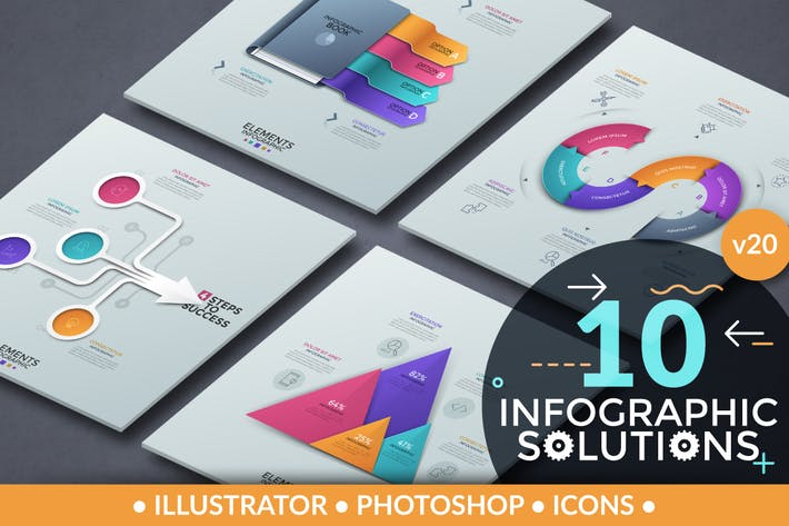 Thumbnail for Infographic Solutions. Part 20