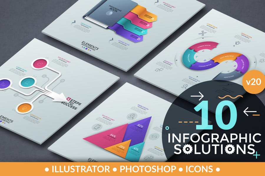 Infographic Solutions. Part 20