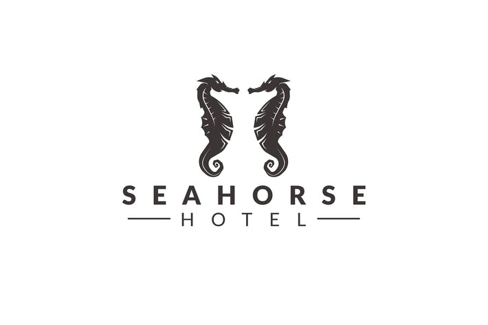 Thumbnail for Sea Horse Logo Template