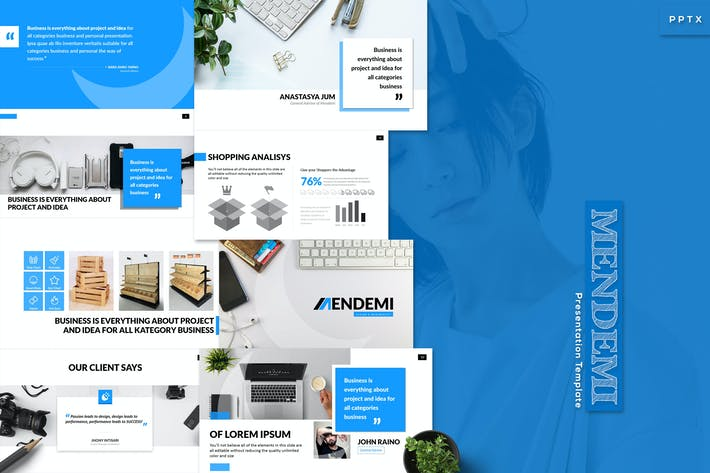 Thumbnail for Mendemi - Powerpoint Template
