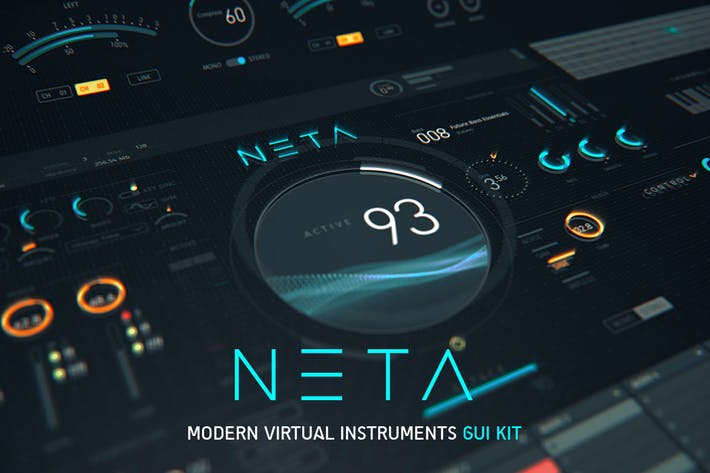Thumbnail for NETA: Modern Virtual Instruments GUI