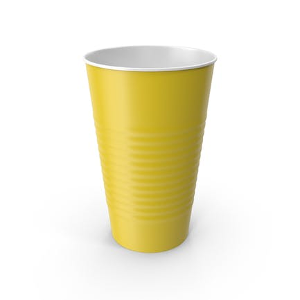 Plastic Cup Yellow