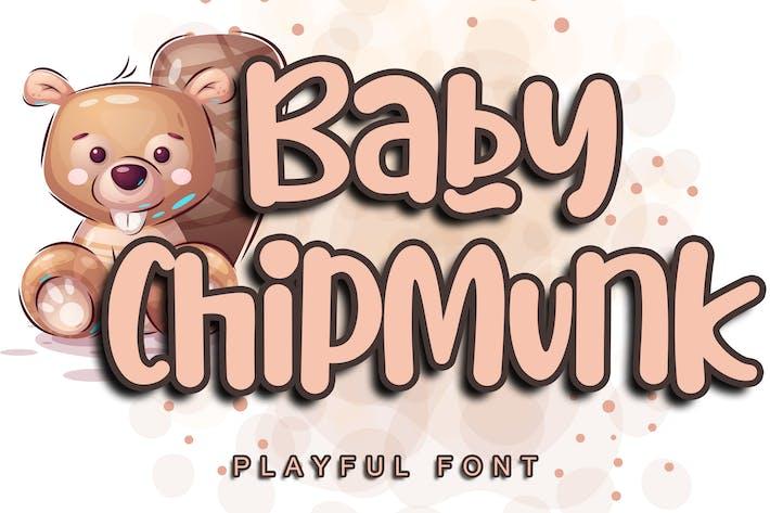 Baby Chipmunk