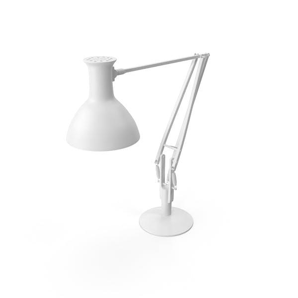 Lámpara de escritorio monocromo