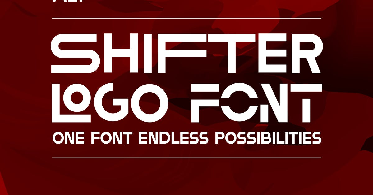 Download Shifter Font by andreasleonidou