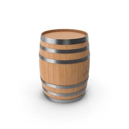 Деревянная бочка