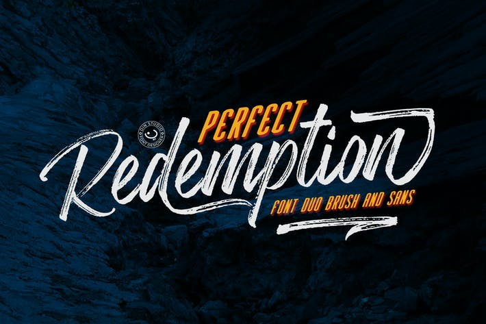 Thumbnail for Perfect Redemption - Font Duo+Extras