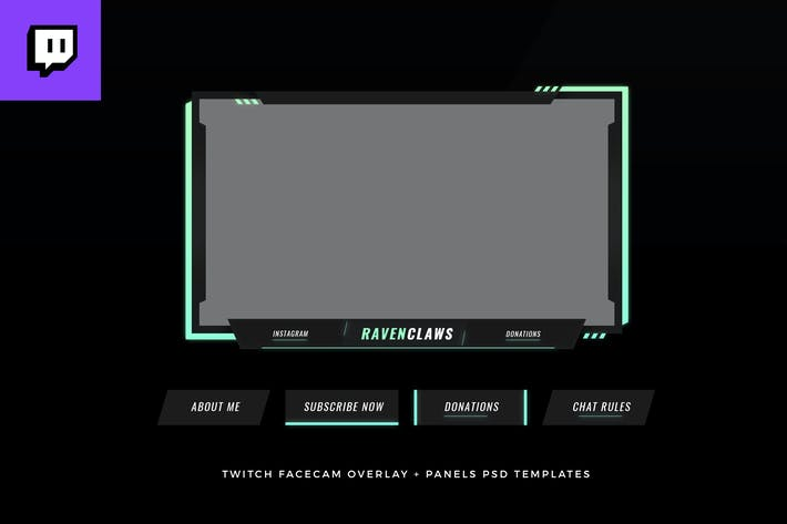 Twitch Facecam Overlay