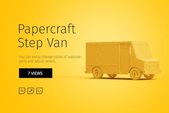 Thumbnail for Papercraft Step Van