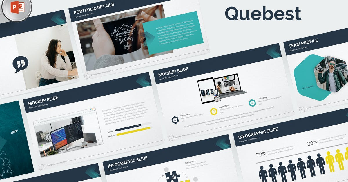 Download Quebest - Powerpoint Template by aqrstudio