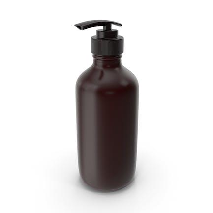 Botella Con Dispensador Marrón