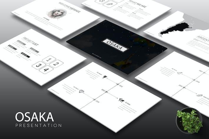 Thumbnail for Osaka -  Keynote Template