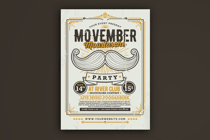 Thumbnail for Movember Moustache Party