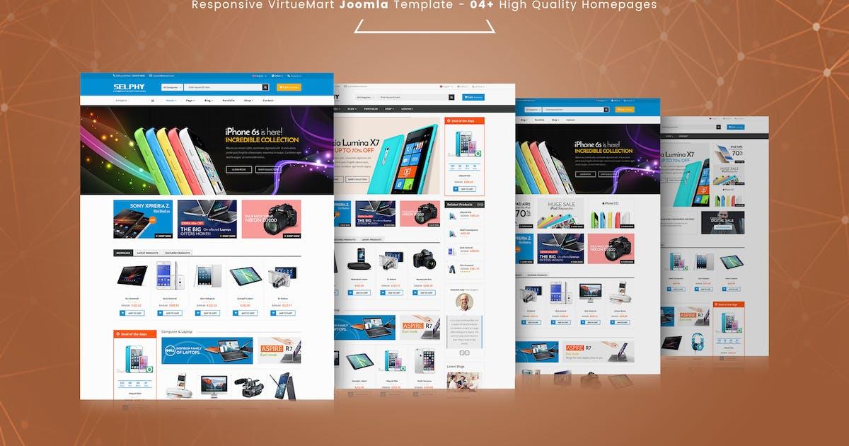Download Selphy - Responsive VirtueMart Joomla Template by vinagecko