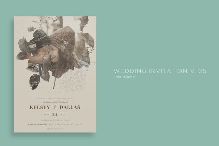 Thumbnail for Wedding Invitation V05
