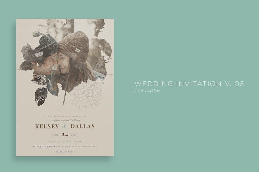 Wedding Invitation V05