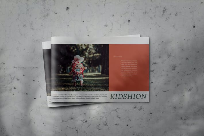 Thumbnail for Kidshion - Indesign Brochure Catalog Template