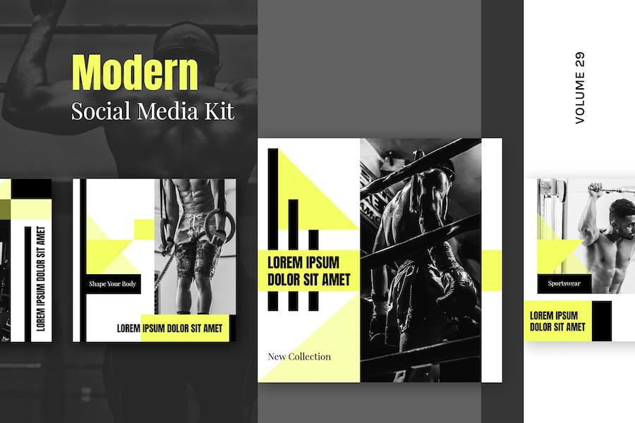 Modern Social Media Kit (Vol. 29)