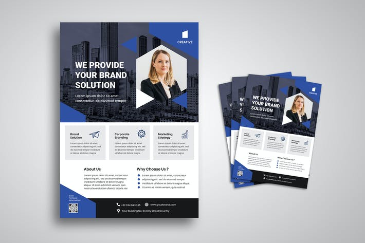 Thumbnail for Corporate Business Solution Flyer