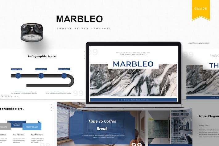 Thumbnail for Marbleo | Google Slides Template