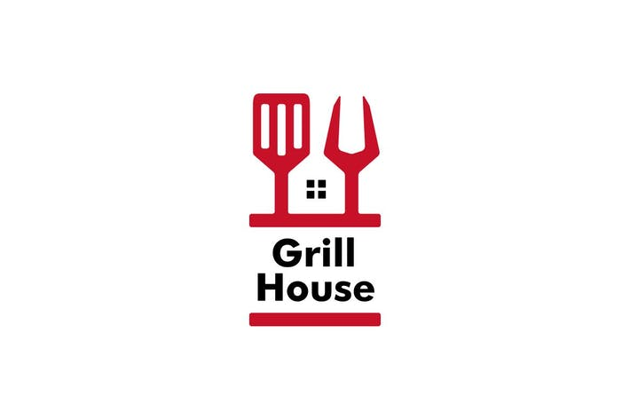 Grill House Spatula Logo
