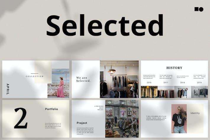 Thumbnail for Selected - Google Slides
