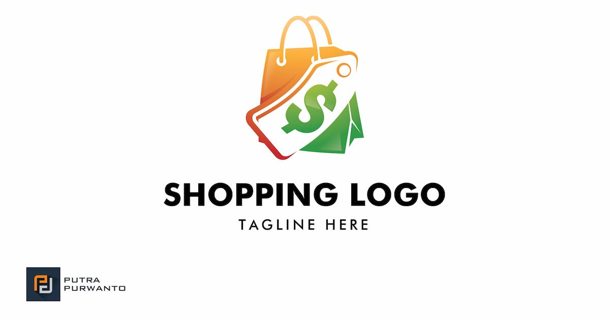 Download Shopping - Logo Template by putra_purwanto