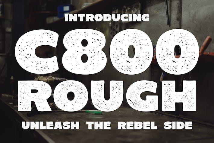 C800 Грубый - Жирный без С засечками