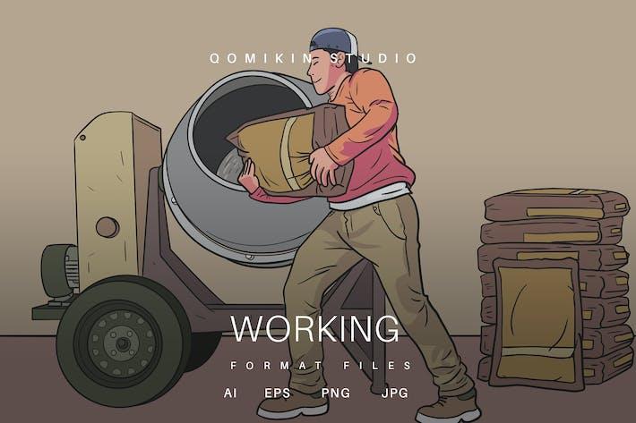Thumbnail for Arbeits-Illustration