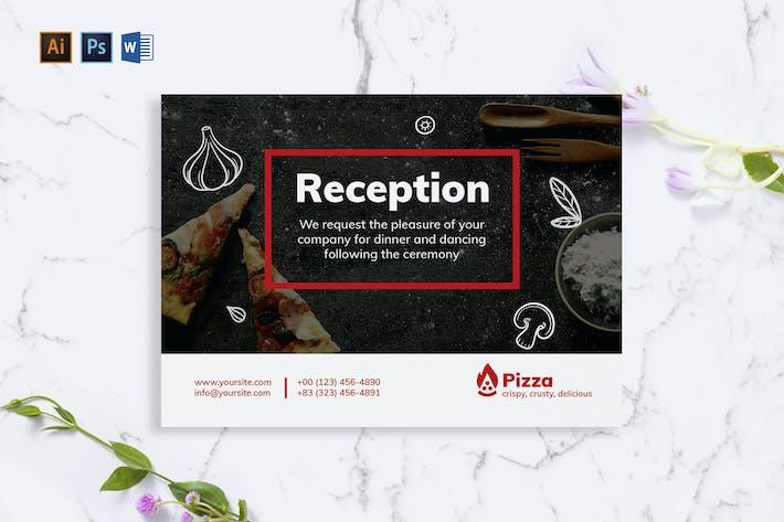 Thumbnail for Carte de vœux Pizza