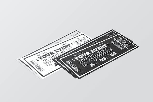 Vintage Event Ticket
