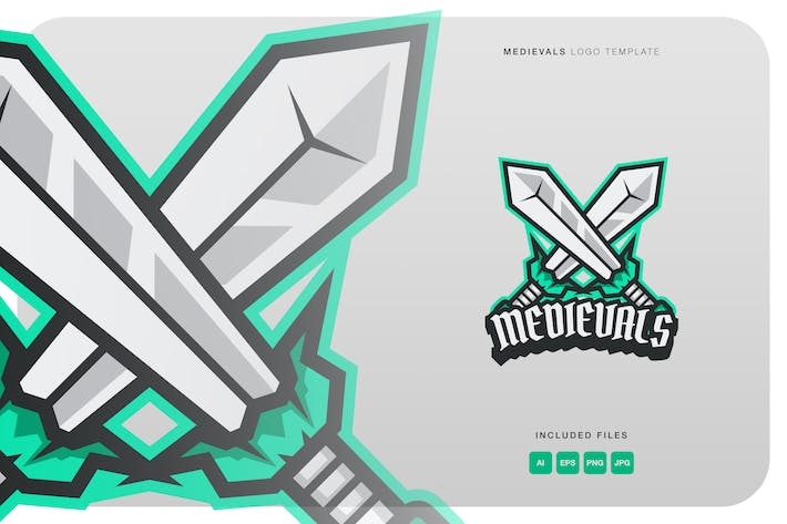 Thumbnail for Medievals Logo Template
