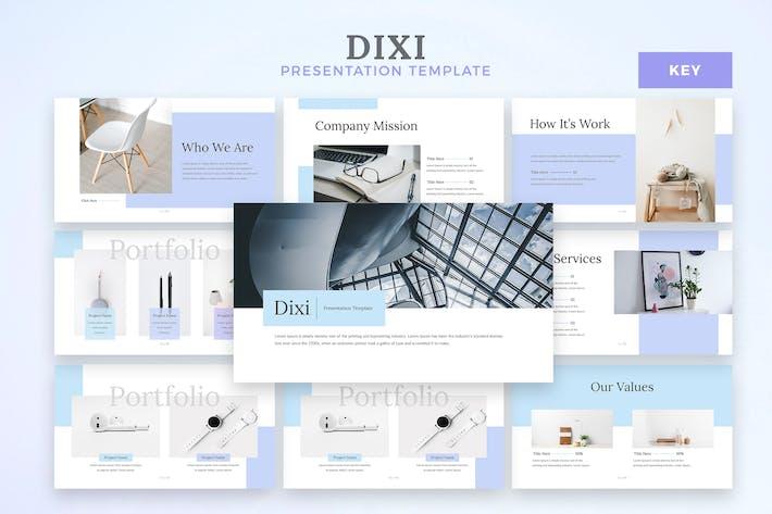Thumbnail for Dixi - Шаблон Keynote