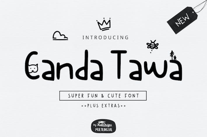 Thumbnail for Canda Tawa Font