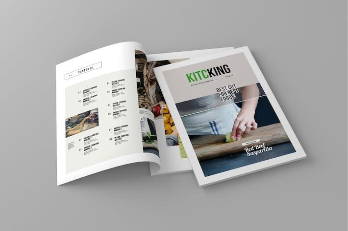 Thumbnail for Kitcking - Magazine Template