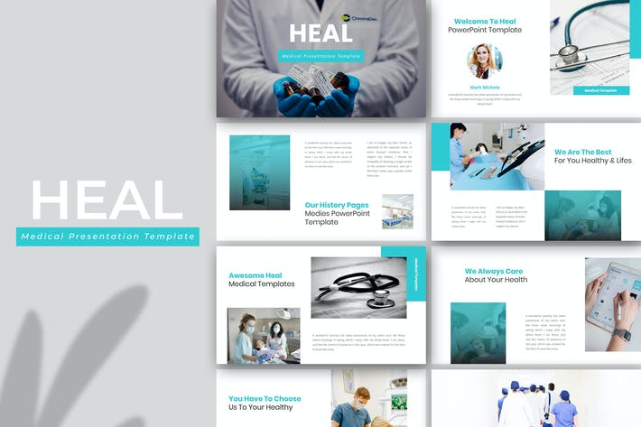 Thumbnail for Heal – Medical PowerPoint Template