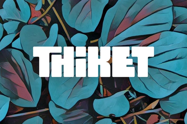 Thumbnail for Thiket Typeface