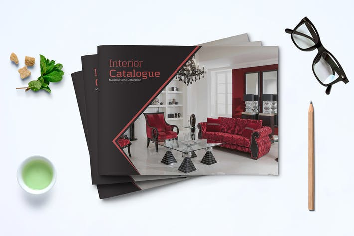 Cover Image For Modern Catalogue Template