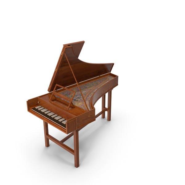 Instrumento Musical Clavecín