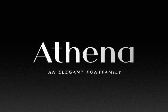 Thumbnail for Athena - An Elegant Sans Serif