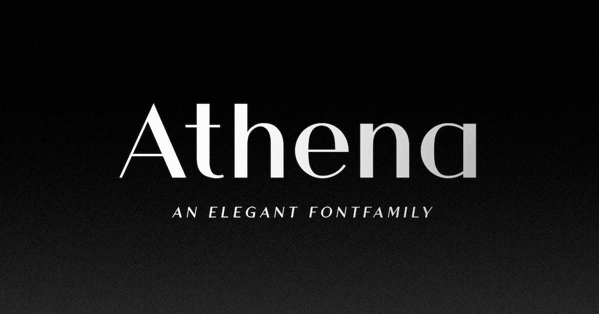 Athena - An Elegant Sans Serif by Corslu
