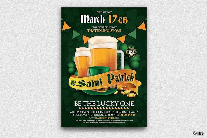 Thumbnail for Saint Patricks Day Flyer Template V5