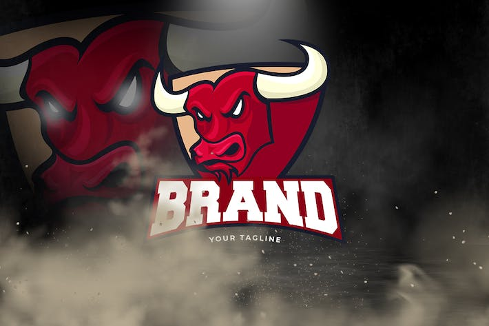 Thumbnail for Bulls Logo Template