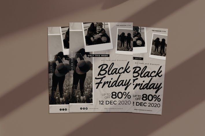 schwarzer Freitag Flyer