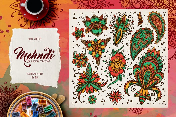 Thumbnail for Mehndi Summer Collection 03