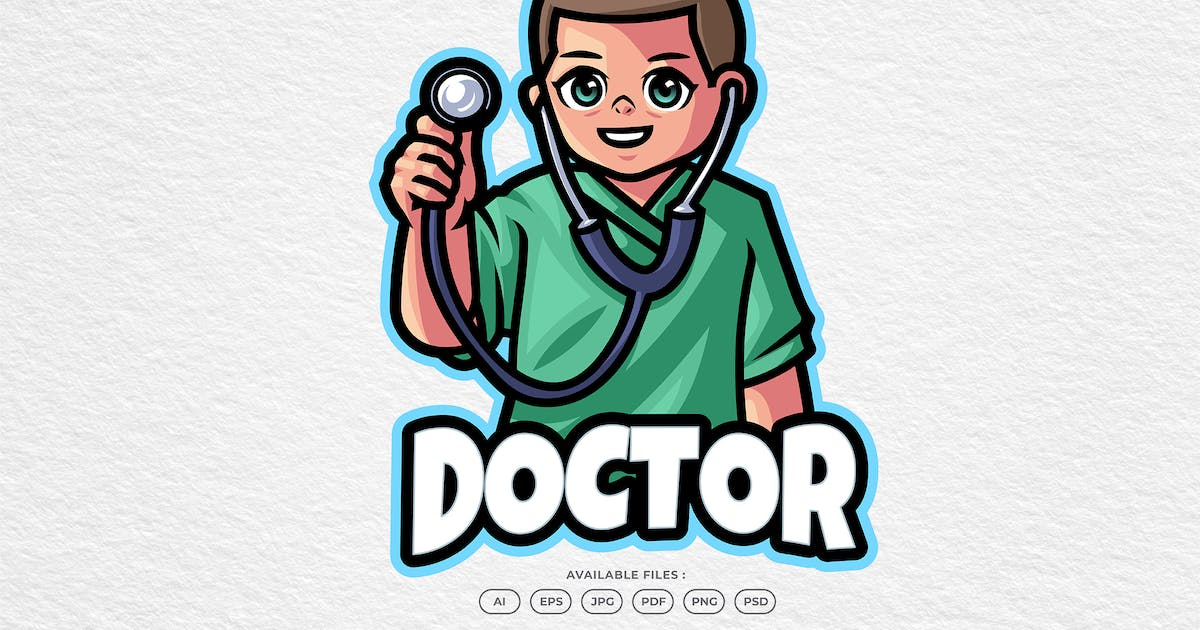 Download Medical Doctor and Health Care Mascot Logo by yogaperdana7