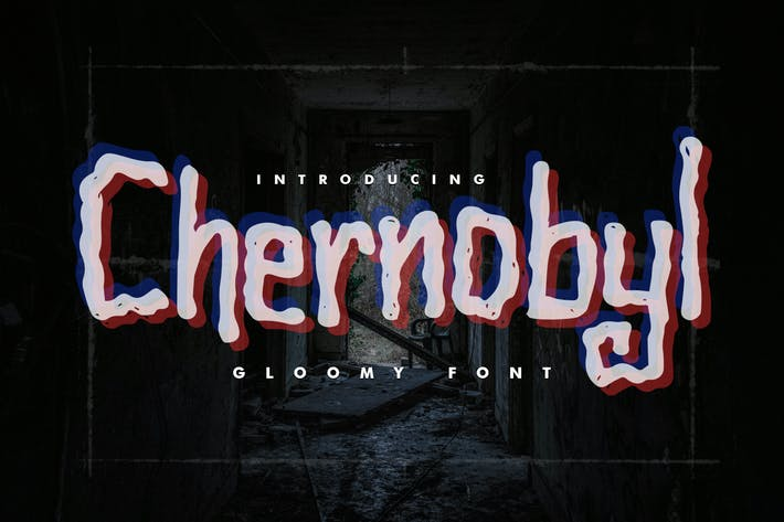 Thumbnail for Chernobyl - Gloomy Font