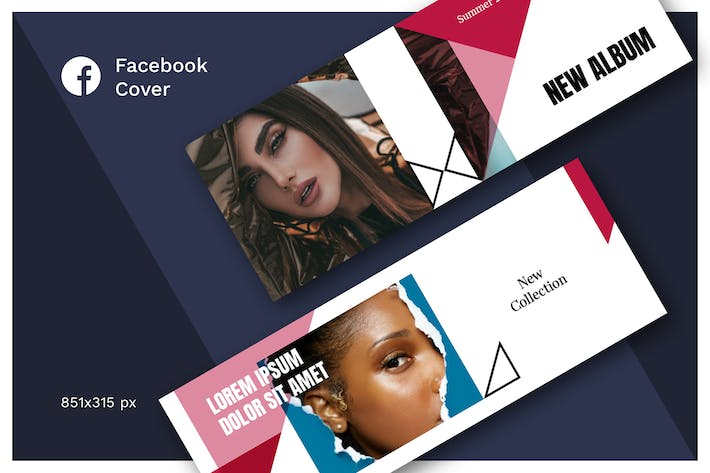 Thumbnail for Facebook Cover (Vol.17)