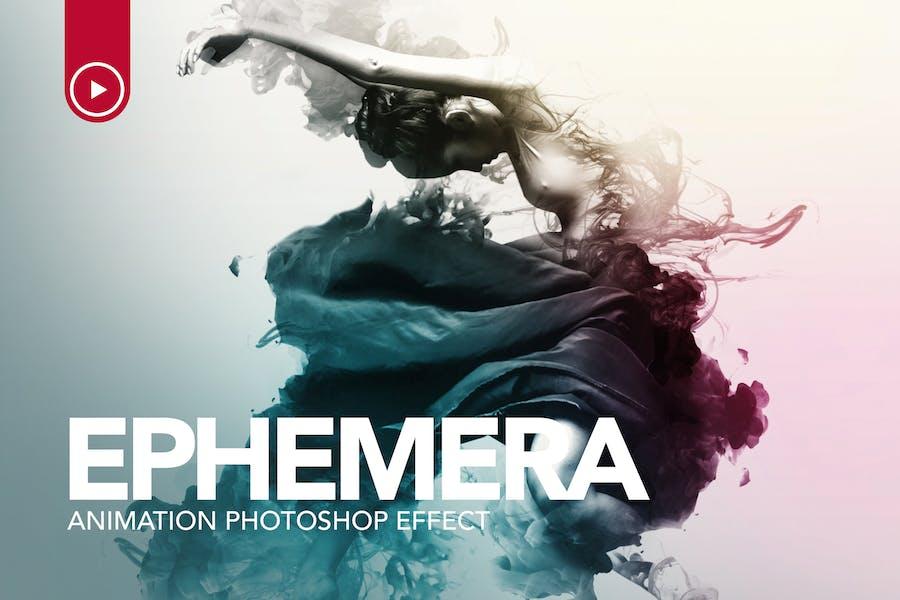 Ephemera Animation Photoshop Action